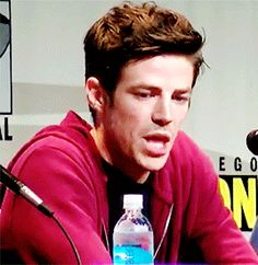 Grant Gustin. The Flash
