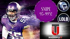 Step 1: Auction House  Step 2: Filter by All Players  Step 3: Select 95-99 Step 4: Switch By Style All Offense and All Defense  Step 5: Make sure the time remaining is Greater than 59:55 to know you are sniping correctly  Step 6: Profit Gains!!   On this channel you will experience commentary mainly over Madden 16 Ultimate Team also referred to as MUT 16. This team is a budget squad focus on players who meet the team needs. The team is an 88 overall and also Team No Money Spent. Sometimes I…