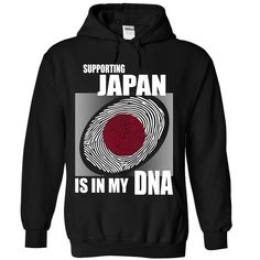 Supporting Japan ᐂ is in my DNA 1Available in tees and hoodies. Get yours now!japan