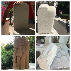 Let's carve Hebel block!
