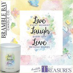 Now in store! Launch offer this week only pay only $24 each with code: INSPIRE  #bramblebaycandleco #bramblebay #inspirationalcandles #candleinspo #newcandles #inspirationalgifts #fragranceinspiration #liltreasures #lovelocalcamden #triplescented #triplescentedcandles #soywaxcandles #personalisedgifts #personalgifts #candlegifts