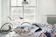 Scandinavian Home Textiles and Design Since 1820 City Scene, Scandinavian Home, Spring Home, Home Textile, Duvet Covers, Interior Decorating, Summer, Life, Beauty
