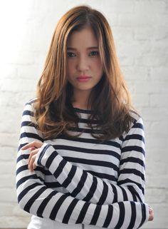 中村アン風ニュアンスウェーブ 【MINX aoyama】 http://beautynavi.woman.excite.co.jp/salon/3384?pint ≪ #longhair #longstyle #longhairstyle #hairstyle ・ロング・ヘアスタイル・髪型・髪形・セミロング≫