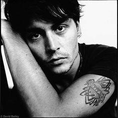 Johnny Depp | by David Bailey, London c1995