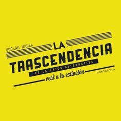 #trascendencia #yellow #type #typography #font #futurist #tipografia