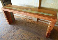 Resultado de imagem para como fazer um aparador de pedaços de madeira de…