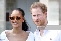 Rihanna and Prince Harry attend the 'Man Aware' event held by the Barbados National HIV/AIDS Commission on the eleventh day of an official visit on December 1, 2016 in Bridgetown, Barbados. Prince Harry's visit to The Caribbean marks the 35th Anniversary of Independence in Antigua and Barbuda and the 50th Anniversary of Independence in Barbados and Guyana.