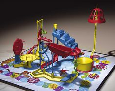 Mousetrap Game - sometimes I'd skip the game and just set the pieces up