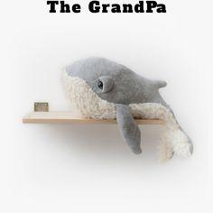 GrandPa Whale - www.bigstuffed.com