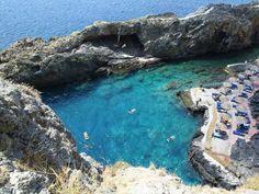 Pirate's Fjord beach south Rethymnon | Crete - Cretamap.com