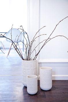 Die große weiße #LoveSong Vase- nordisch schön und voll Liebe    Hier im #KONTOR1710