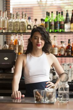 Who wants a good cocktail? We for sure, and when we need it we just ask to our trusted bartender! Bartender Uniform, Hey Bartender, Fun Drinks, Yummy Drinks, Piercings, Cocktails, Poses, Grand Opening, Home Brewing