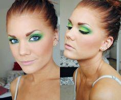 Green #makeup