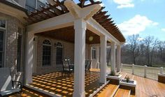 pergola attached to house - Yahoo Image Search Results