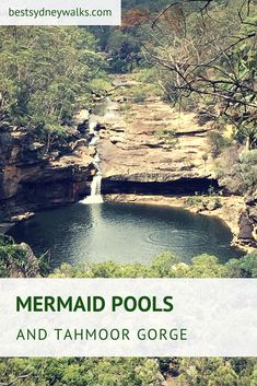 Mermaid Pools is a beautiful natural water hole on the Bargo River at the start of Tahmoor Gorge, only 75 minutes south-west of Sydney. Beautiful Places To Visit, Cool Places To Visit, Places To Travel, Travel Oz, Mermaid Pool, Australia Country, Rock Pools, Swimming Holes, Weekend Trips
