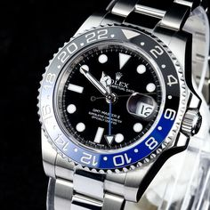 Rolex GMT-Master II Blue Black Batman Bezel