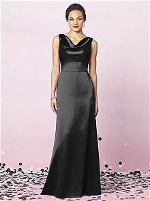 After Six Style 6627  #black #bridesmaid #dress