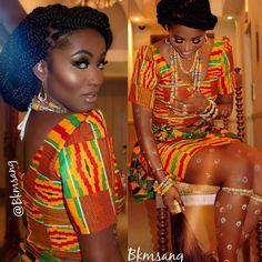 I Do Ghana | Kente inspiration | African Fashion| Ghana Fashion