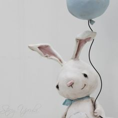 Lilly - Paperclay bunny