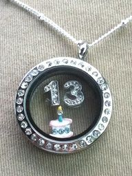 An Origami Owl locket is the perfect birthday gift for a girl at 13 or any age! Customize it just for her!