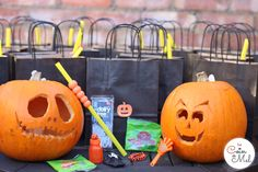 a Free From Halloween Party - Party Bags