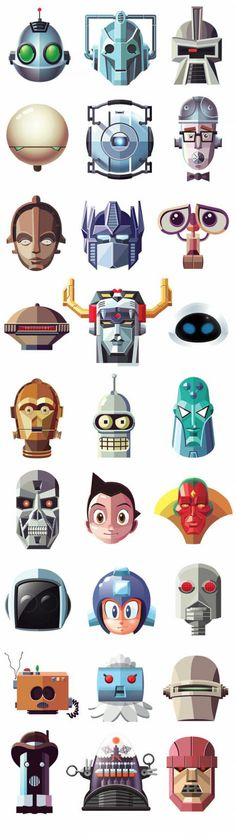 Do you recognize one again? famous robots !