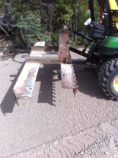 Adjustable Harrow and Leveling Implement : 5 Steps - Instructables Compact Tractor Attachments, Garden Tractor Attachments, Atv Attachments, Small Tractors, Compact Tractors, Metal Projects, Welding Projects, John Deere Garden Tractors, Homemade Tractor