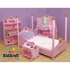 <3 I'm so getting this for her 2nd birthday! <3 Princess Toddler Bedroom Collection