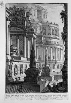 Giovanni Battista Piranesi – Grabados y dibujos