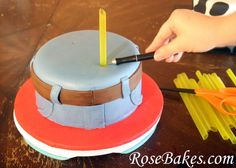 Cowboy Western Cakes & Smash Cakes + How to Stack Cake Tutorial