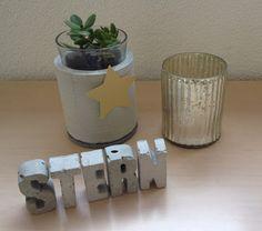 Wohnbrise: Beton, Stern, Wort
