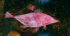 Design is fine. History is mine. — Paul Klee, Fish Magic, 1925. Oil and watercolor on...