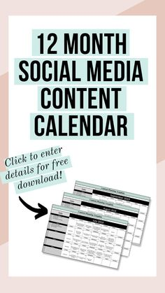 Still Posting on Social Media With No Plan? Plan your posts ahead of time, get organized & save time with a social media content calendar. Social Media Automation, Social Media Analytics, Social Media Content, Social Media Marketing, Content Marketing, Marketing Automation, Facebook Marketing, Marketing Ideas, Plan Plan