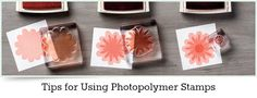 Tips for Using Photopolymer Stamps