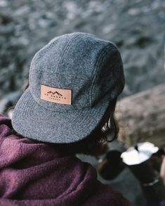 Melton Wool w/ Leather Stylish Hats, Stylish Men, Summer Cap, 5 Panel Hat, Estilo Fashion, Outfits With Hats, Snapback Hats, Caps Hats, Mens Fashion