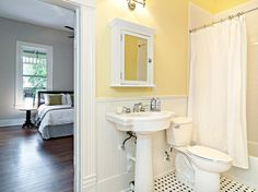 Yellow Bathrooms Design Ideas, Pictures, Remodel, and Decor