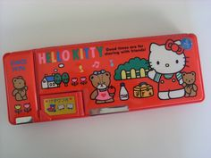 Hello Kitty pencil box 1991 by lucychan80, via Flickr
