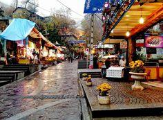 پنج شنبه ی بارانی تهران ... از پارک شهر تا میدان سربندTehran, Iran