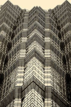 Shanghai architecture~ Jin Mao building detail~Explored! by ~mimo~, via Flickr