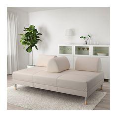 FLOTTEBO Sleeper sofa - Lofallet beige - IKEA