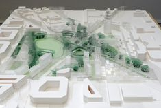 Project for the new Glòries square, Barcelona. Urban Analysis, Arch Model, Master Plan, Land Art, Urban Design, Landscape Architecture, Table Decorations, Projects, Inspiration