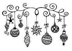 Weihnachten Zentangle - New Ideas Christmas Sketch, Christmas Doodles, Christmas Drawing, Noel Christmas, White Christmas, Christmas Crafts, Xmas, Christmas Ornaments, Christmas Design
