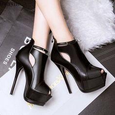 Details about  /Key Ultra High Heels Stripper Shoes Women Designer 22CM Extreme High Heels Pump
