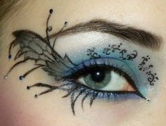 eye fairy makeup...I love it!
