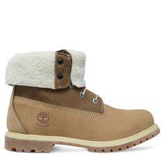 Descubre Timberland® Authentics Teddy Fleece Waterproof Fold-Down Boot…