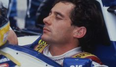 Senna....I hate this pic because I know it's just before the end....but such a beautiful, serene face!