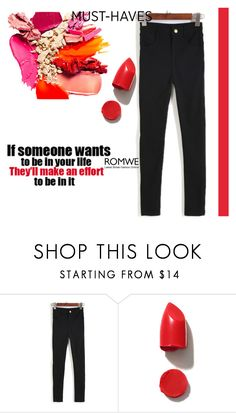"""""""romwe contest"""" by dressing-is-a-way-of-life ❤ liked on Polyvore featuring Zone and NARS Cosmetics"""