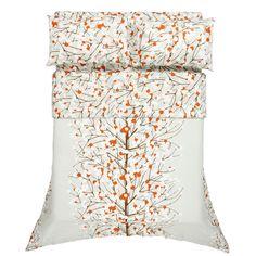 Marimekko Lumimarja bedding. Shame it only comes in Scandinavian bed sizes....