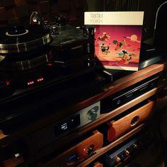 What's up next vinyl night at AMJ.  #highendaudio #hiend #tubes #vinyl #vinylporn #audioporn #audio #audiophile #recordplayer #analog #turntable #sterophile #stereo by audio_by_mark_jones