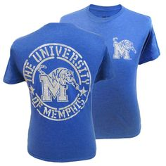 Memphis Tigers Vintage T-Shirt | Whenever we get one of these 'Crazy Soft' vintage tees from MyU Apparel®, they just fly off the shelves! The quality, fit, and soft material makes it the perfect go-to tee for game day or any day!